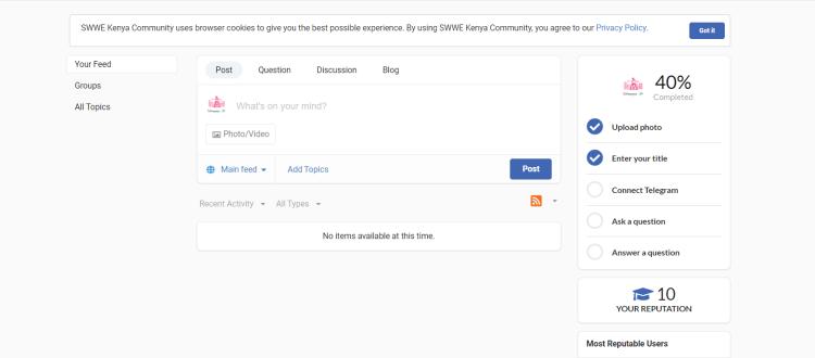 SWWE-Kenya-Online-Community